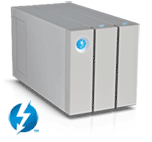 LaCie 2big Series Thunderbolt2 8TB + cable (STEY8000401)