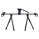 Kit Slider Benro MoveOver12 900 mm + 2 trípodes