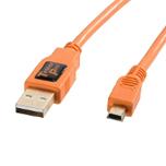 Cable TetherPro USB 2.0 A male a mini-B 5 Pin 4.6m