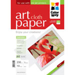 ColorWay papel Art glossy Texture Cloth A4 230gr (10 hojas)