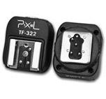 Pixel zapata flash PC TF322 Nikon