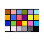 ColorChecker - 24 colores - carta de referencia
