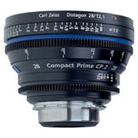 Objetivo Zeiss Compact Prime CP.2 EF 28/T2,1