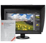 Monitor Eizo ColorEdge CS230 + visera original Eizo