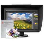 Monitor Eizo CS230 + visera Eizo +software colorNavigator + libro
