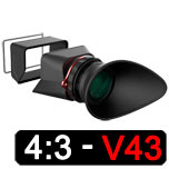 Kamerar  MagView LCD View Finder V43