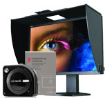 Monitor SpectraView Reference 242 con Colormunki Photo