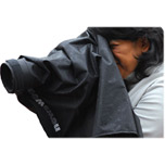 Short Lens Rain Poncho For Canon EOS-Mark-IV & 7D, 5D Mark-III
