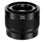Objetivo Zeiss Touit 32 mm f 1,8 E-Mount (Sony)