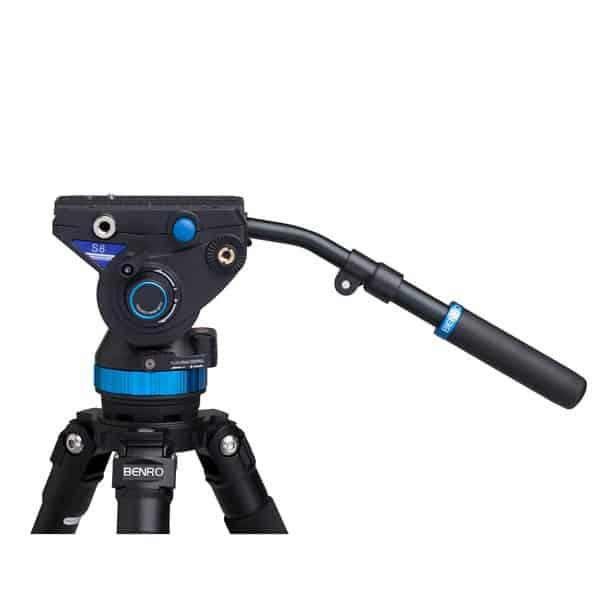 Rótula Benro para vídeo profesional Serie S S8 (hasta 8 Kg)