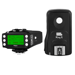 Kit disparador Pixel KING Pro + receptor King X Kit para Canon