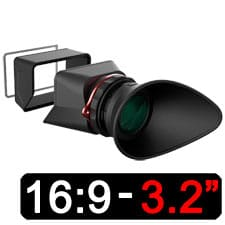Kamerar MagView LCD View Finder 3,2 (16:9)