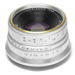 7 Artisans 25mm F1.8 Sony E Mount Silver (APS-C)