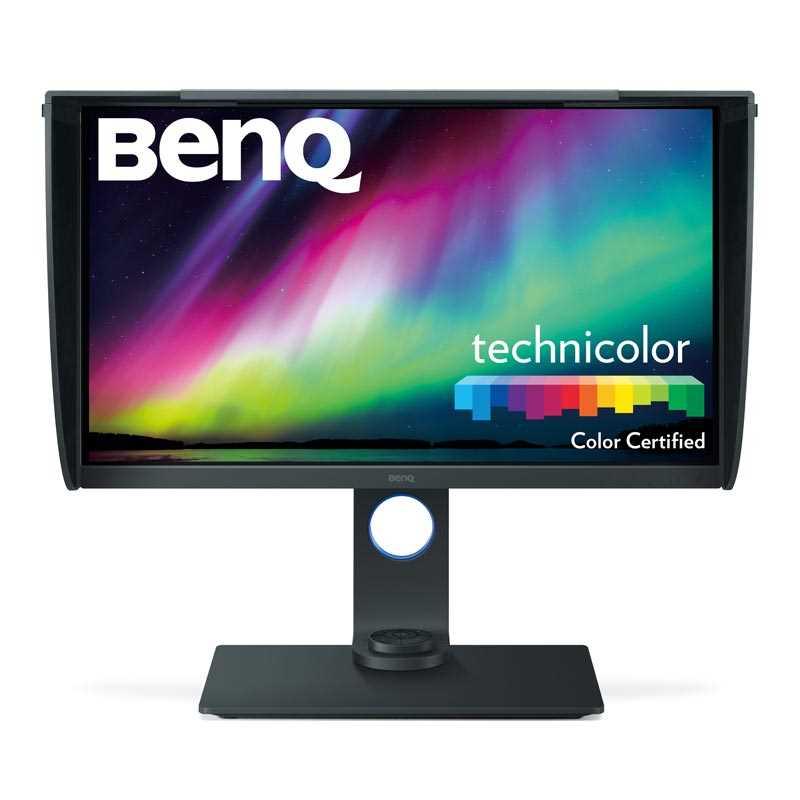 Monitor BenQ SW271 4K UHD con HDR