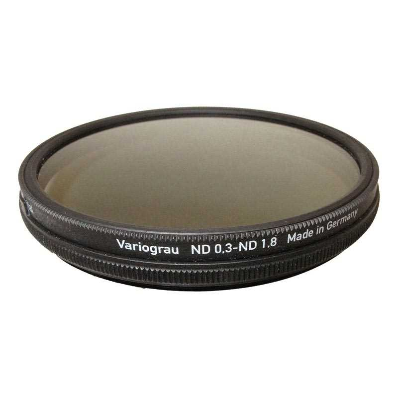 Filtro Heliopan gris VARIABLE densidad ND 0,3 - ND 1,8 de 67 mm SLIM