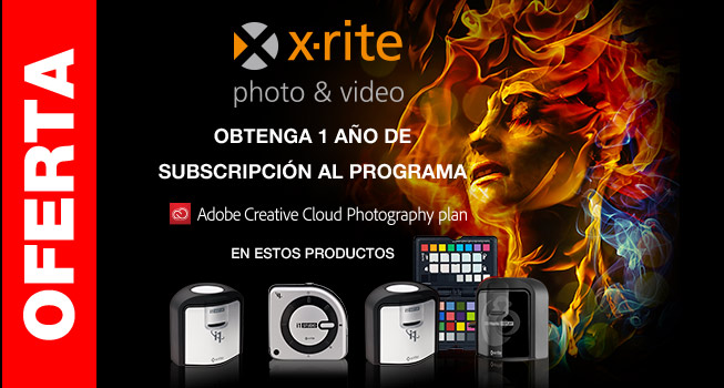 OBTENGA 1 AÑO DE SUBSCRIPCIÓN AL PROGRAMA Adobe Creative Cloud Photography Plan