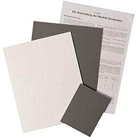 Set de 3 cartas de gris (2x 20 x 25cm + 1 x 10 x 12 cm)