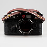 Berlin #102 - Brown Leather camera strap 120 cm