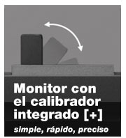 monitor con calibrador