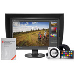 Monitor Eizo CS2420 con visera + software ColorNavigator + i1 Studio + libro