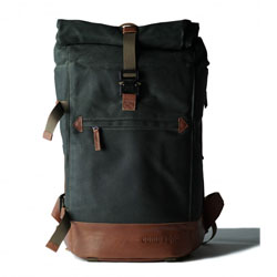 Mochila Compagnon The backpack - verde oscuro y marr�n