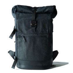 Mochila Compagnon The backpack - azul oscuro y negro
