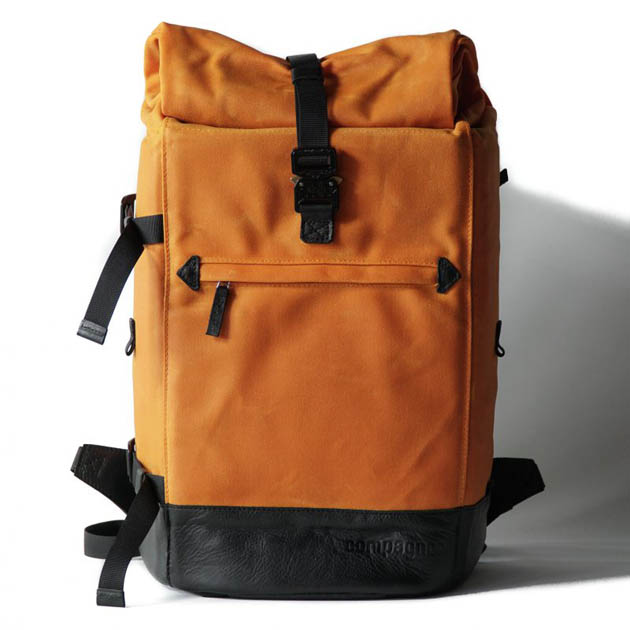Mochila Compagnon The backpack - naranja y negro