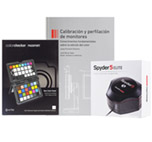 Calibrador Datacolor Spyder 5 elite + libro + ColorChecker
