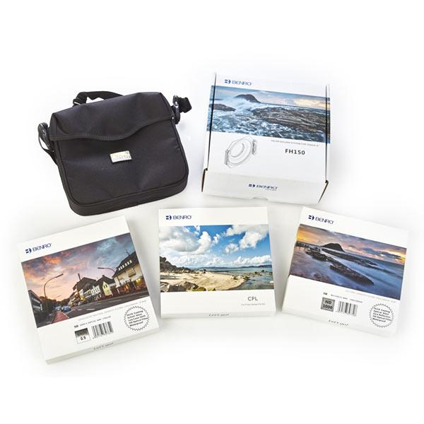 Conjunto de filtros Benro de 150 mm para Nikon 14-24
