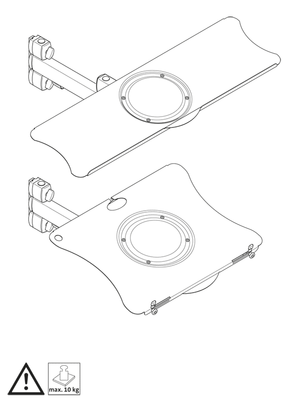Montaje de los sistemas de bandejas
