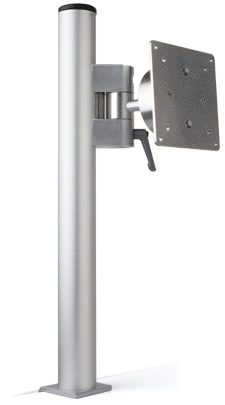 Brazo articulado i de aluminio soporte para monitor for Soporte vesa 200x200