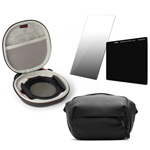 Conjunto Haida M10 y filtros NanoPro 0.9 soft y ND 1.8 con Everyday Sling
