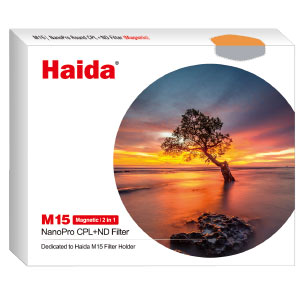 Haida M15 Magnetic Nano-coating CPL+ND1.8 Filter