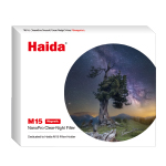 Haida M15 Magnetic Nano-coating Clear-Night Filter