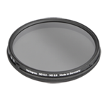 Filtro Heliopan gris VARIABLE densidad ND 0,3 - ND 1,8 de 77 mm SLIM