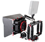 Kamerar mate box con donut + Cage TK3 con asa + follow focus y magic arm