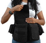 Womens Digital Chestvest-black 511761