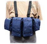 Mens Digital Chestvest-navy blue