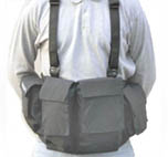 Chaleco fotografia Mens Digital Chestvest Grey