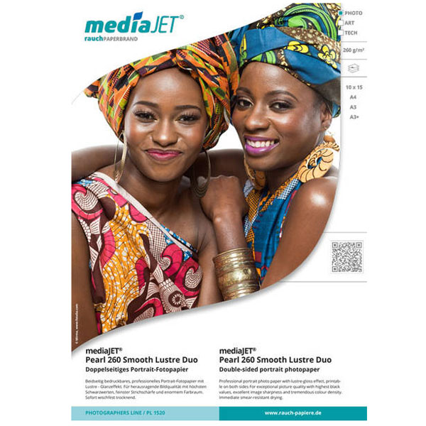 MediaJET PEARL 260 smooth lustre duo A3+