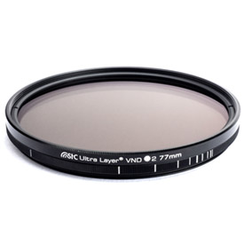 Filtro Variable STC Ultra Layer ND2-1024 Filter 67mm