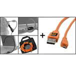 TetherTools kit Starter Tethering con cables USB 2.0 (Mini-B 8 pin)