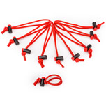 Pasadores de cables Red Whips (10 u.)