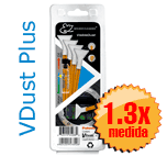Visible Dust EZ Kit  - 4 Sensor Swab 1.3 naranja + 1ml VDust Plus