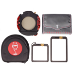 Portafiltros WCC 100mm kit - 1 ND Vault, 1 Grad Vault, Pola, NO adapter